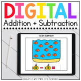Addition + Subtraction Digital Basics for Special Ed | Dis