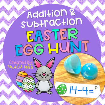Addition & Subtraction Easter Egg Hunt
