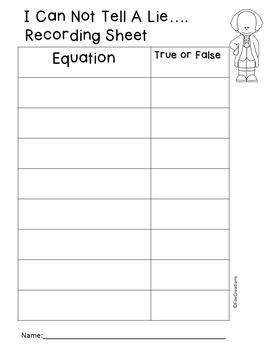 Addition & Subtraction Equation Sort ~ Hands On, Easy Set Up