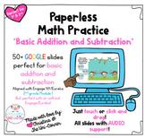 Addition Subtraction | Eureka Engage NY Module 1 | Paperle