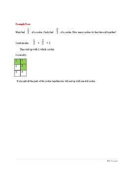 Addition/Subtraction Examples FREEBIE!!