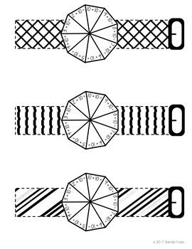 Addition & Subtraction Fact Fans & Bracelets BUNDLE