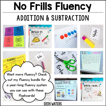 Addition & Subtraction Fact Flashcards {2-Sided, EASY to Copy!}