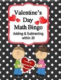 Addition & Subtraction Fact Fluency Fun with Math Bingo
