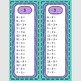 Addition/Subtraction Fact Fluency Strips