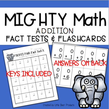 Addition Subtraction Fact Mastery Bundle
