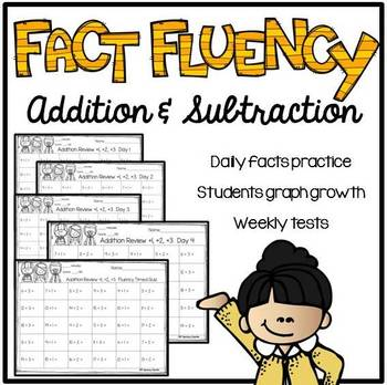 Addition & Subtraction Fact Review Bundle