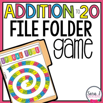 Addition and Subtraction Facts Board Games Bundle