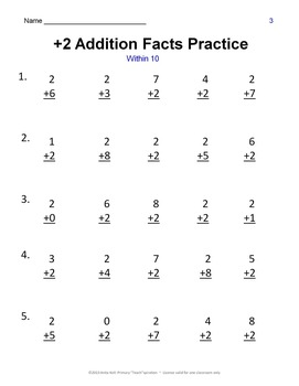 Addition & Subtraction Facts Practice Worksheets and Assessments ~ Mega Bundle