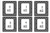 Bundled Flashcards: Addition & Subtraction Facts to 20