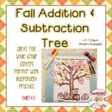 Addition & Subtraction Fall Math Activity
