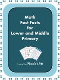 Addition & Subtraction Fast Facts