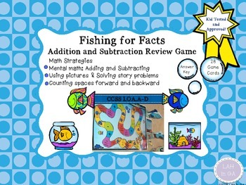 Addition & Subtraction Fishing for Facts Game