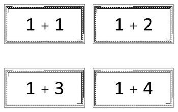Addition & Subtraction Flash Cards