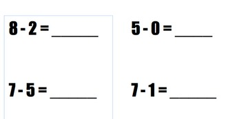 Addition Subtraction Fluency