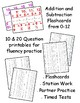 Addition & Subtraction Fluency Practice - Flashcards & Task Cards