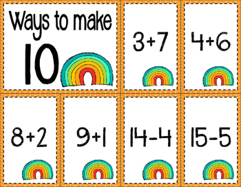 Math Fact Fluency for April (0 to 10)