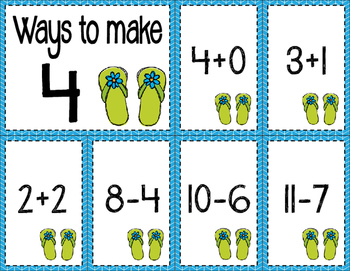 Math Fact Fluency for June & July (0 to 10)