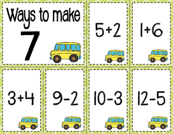 Math Fact Fluency for September (0 to 10)