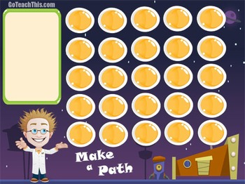 Addition & Subtraction Game - Make a Path