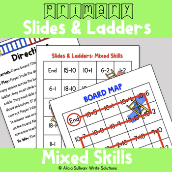 Addition & Subtraction Game: Mixed Skills