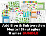Addition & Subtraction Mental Strategies Games BUNDLE