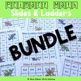Addition & Subtraction Games: Slides & Ladders Bundle