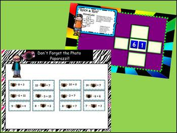 Addition, Subtraction, Place Value & Algebra Skills Smart Board Games/Lessons
