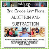 3rd Grade Lesson Plans Addition & Subtraction  3.2C 3.4A 3