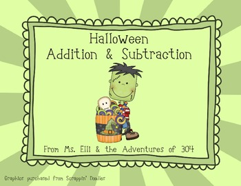 Addition & Subtraction - Halloween Style