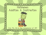 Addition & Subtraction - Halloween Style