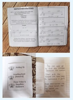 Addition & Subtraction Interactive (EDITABLE) Notebook -- Third Grade CCSS