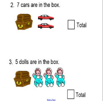Addition/Subtraction Interactive SMARTboard Activity