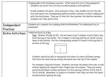 Addition & Subtraction K-2 Unit
