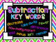 Addition & Subtraction Key Word Posters