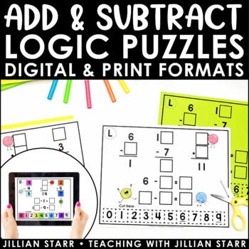 Addition & Subtraction Logic Puzzles