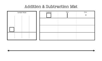 Addition & Subtraction Mat