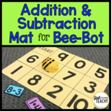 Addition & Subtraction Mat for Bee Bot Coding Robot