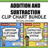 Addition and Subtraction Fact Fluency Bundle 1st Grade 2nd Grade {Common Core}