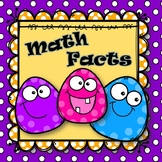 Addition & Subtraction Math Facts