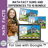 Addition & Subtraction Math Facts Choose the Correct Equat