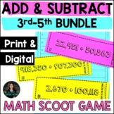 Addition & Subtraction Math Game Bundle - Add & Subtract P