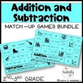 Addition & Subtraction Math Games BUNDLE   Addition & Subtraction Math Centers