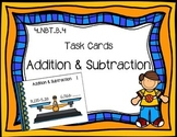 Addition & Subtraction {Math Task Cards}
