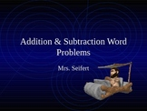 Addition & Subtraction Multi-step Word Problems