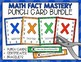 Addition, Subtraction, Multiplication, Division Fact Punch
