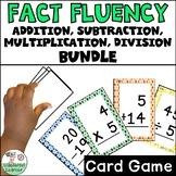 Addition/Subtraction/Multiplication/Division Facts Go Fish BUNDLE