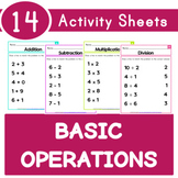Addition Subtraction Multiplication Division Sheets