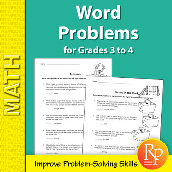 Multiplication And Division Word Problems - Grade 3 Teaching ...