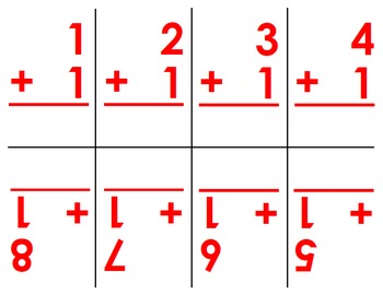 Addition, Subtraction, Multiplication and Division Flashcards (0-12)